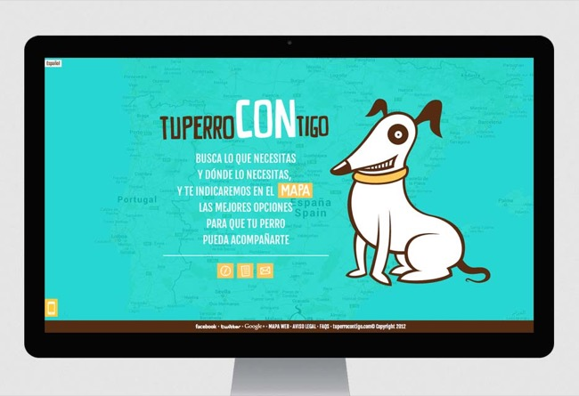 Social net website Tu perro contigo - mobile app / web development / responsive design / web design / CMS - 2012